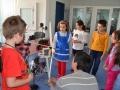 Primele lectii demonstrative cu elevi in cadrul proiectului